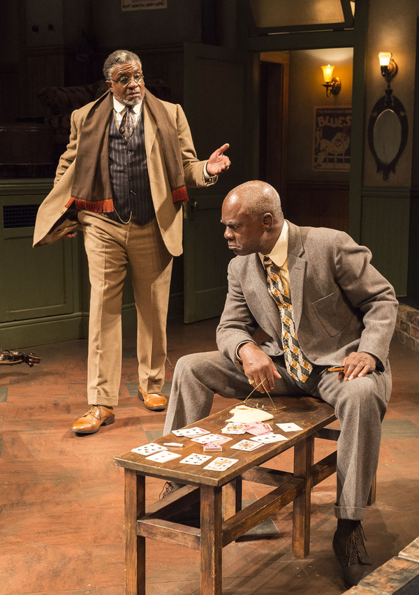 Keith David and Glynn Turman