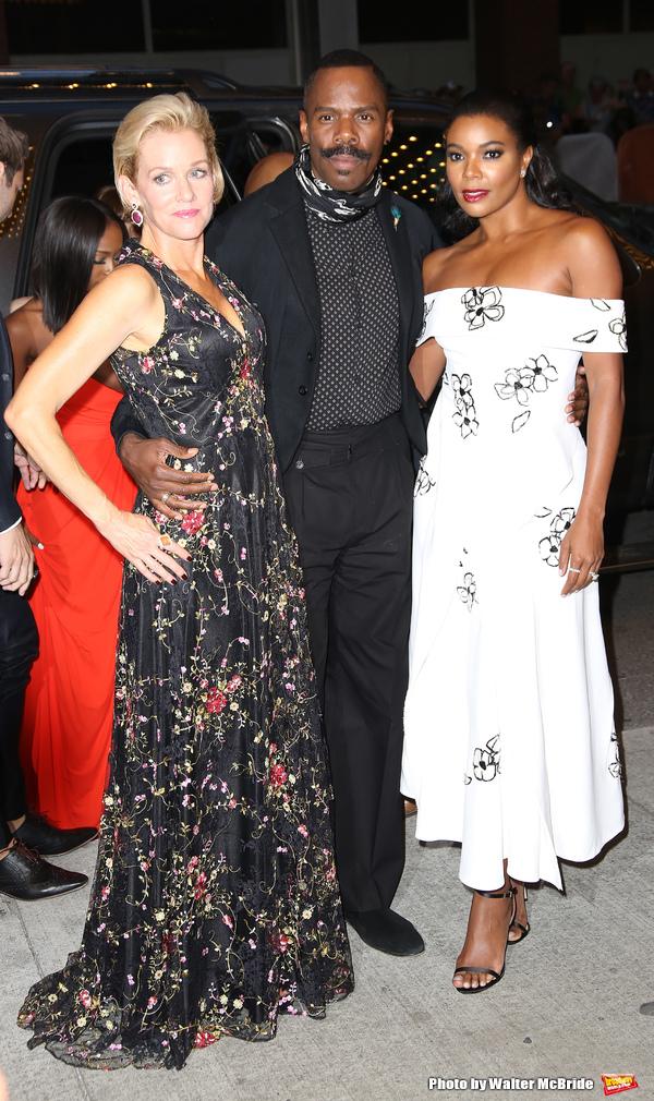 Penelope Ann Miller, Colman Domingo and Gabrielle Union