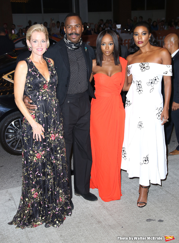 Penelope Ann Miller, Colman Domingo, Aja Naomi King and Gabrielle Union  Photo