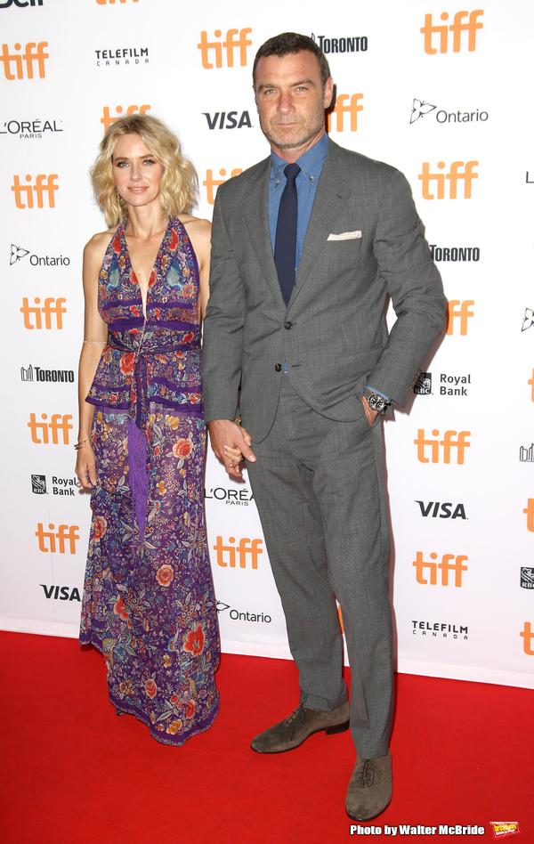 Naomi Watts and Liev Schreiber  Photo