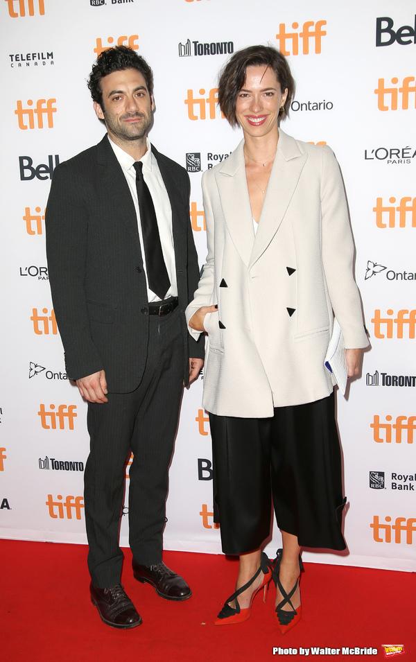 Morgan Spector and Rebecca Hall  Photo