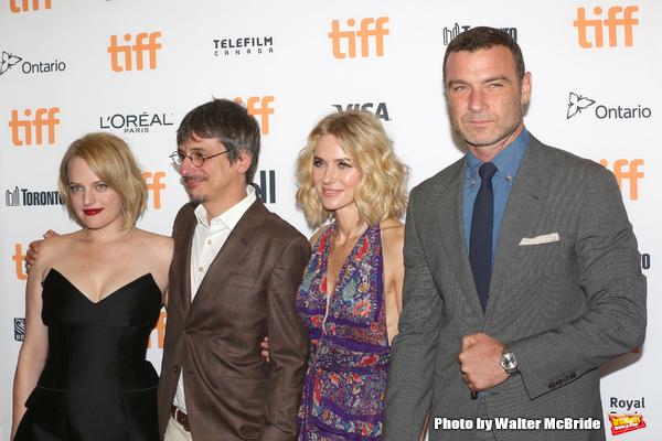 Elisabeth Moss,  Philippe Falardeau, Naomi Watts and Liev Schreiber  Photo