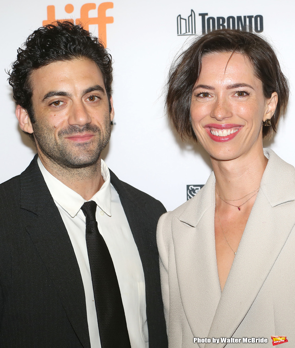 Morgan Spector and Rebecca Hall