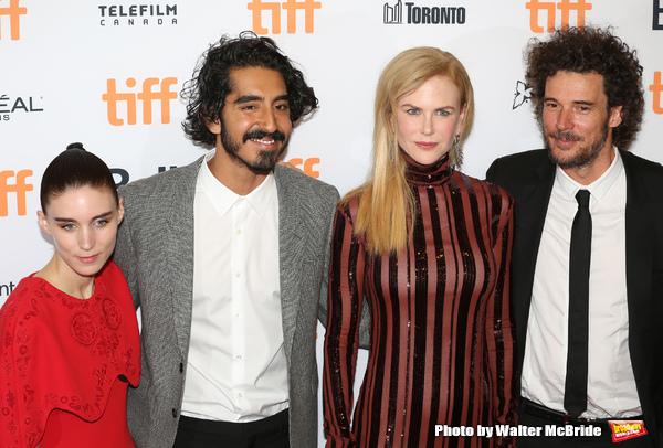 Rooney Mara, Dev Patel, Nicole Kidman and  Garth Davis
