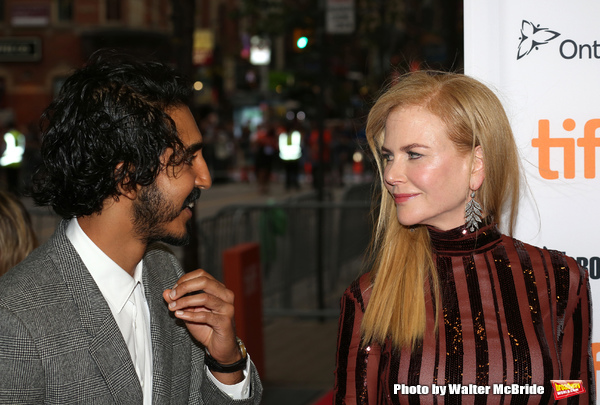 Dev Patel and Nicole Kidman