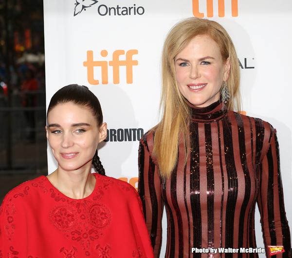Rooney Mara and Nicole Kidman