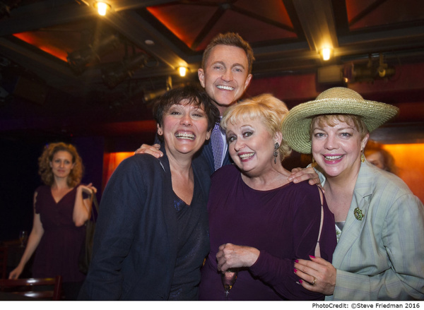Photo Flash: Donna McKechnie and More Turn Out for DOUBLE TAKE at The Laurie Beechman Theatre