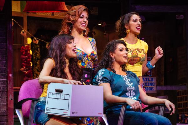 Chelsea Zeno, Isabel Santiago, Michelle Beth Herman and Alicia Taylor Tomasko