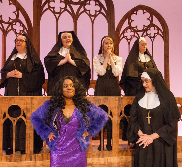 Metro Last Light Theater Acts: Photo Flash: First Look At SISTER ACT At The Mainstage