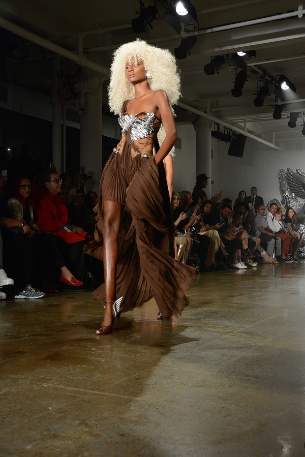 Photo Flash: Cynthia Erivo Spotted at New York Fashion Week