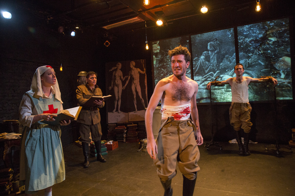 Photo:  Horizon Theatre Rep presents GEIST! based on plays by August Stramm, Franz Ka Photo