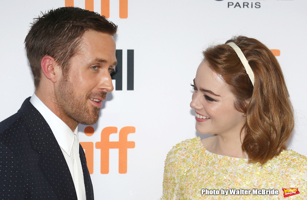 Emma Stone and Ryan Gosling a