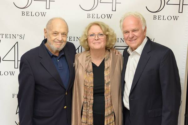 Sandy Faison and P.J. Benjamin with composer Charles Strouse