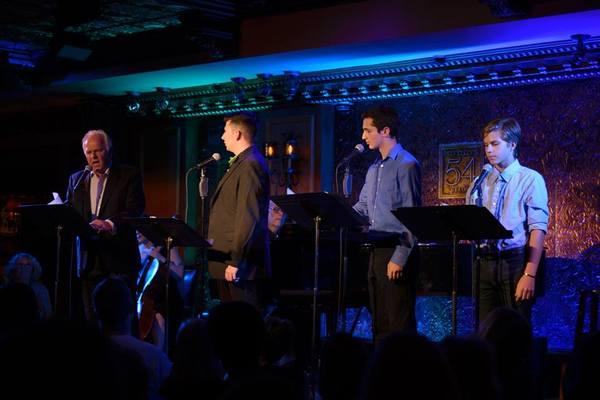 P.J. Benjamin, Stearns Matthews, Adam Cantor and Lucas Schultz