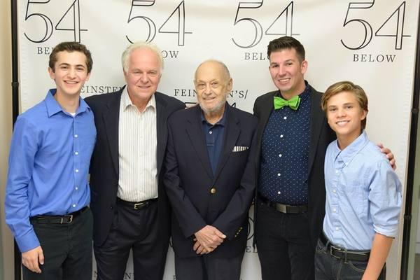 Adam Cantor, P.J. Benjamin, Charles Strouse, Stearns Matthews and Lucas Schultz