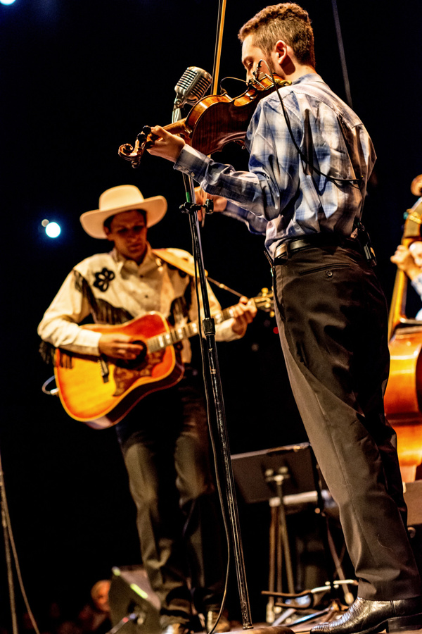 Lovesick Blues: Remembering Hank Williams. Ethan Kinsella, Connor Ostrow. Photo: JPM Photography.