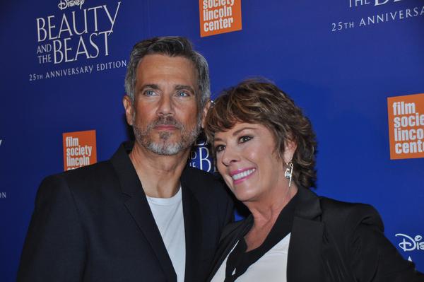 Robby Benson and Paige O'Hara Photo