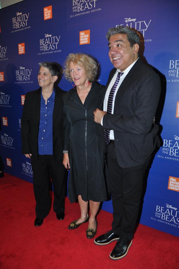 Lesli Klainberg, Wendy Keys and Eugene Hernandez of The Film Society of Lincoln Center