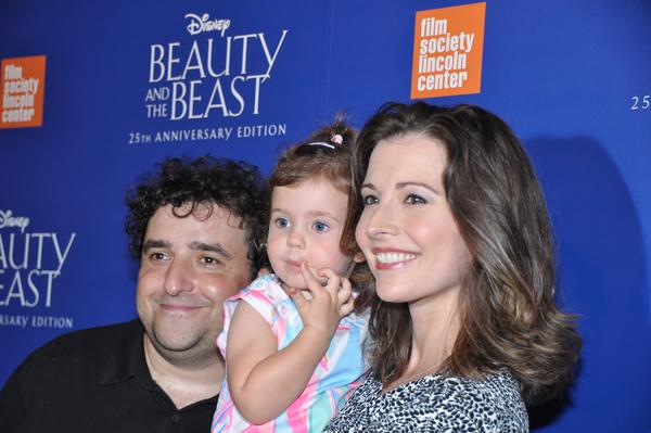 David Krumholtz, Vanessa Britting and daughter