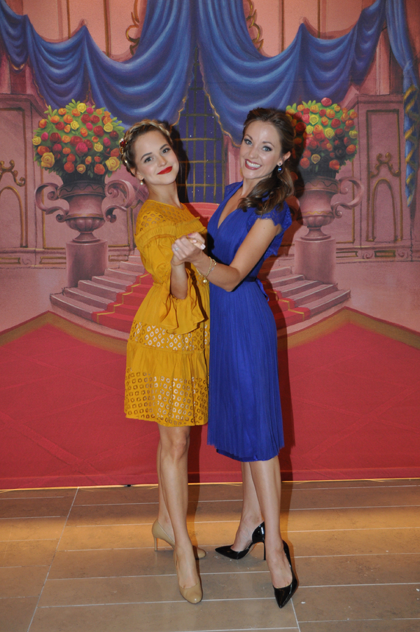 Stephanie Styles and Laura Osnes