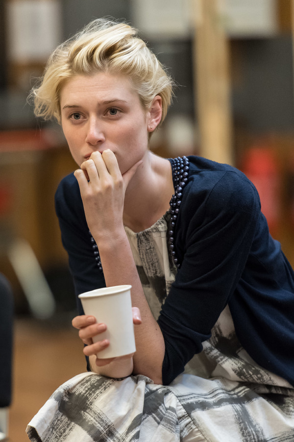 Photos: The Cast of David Hare's New Play Rehearses THE RED BARN