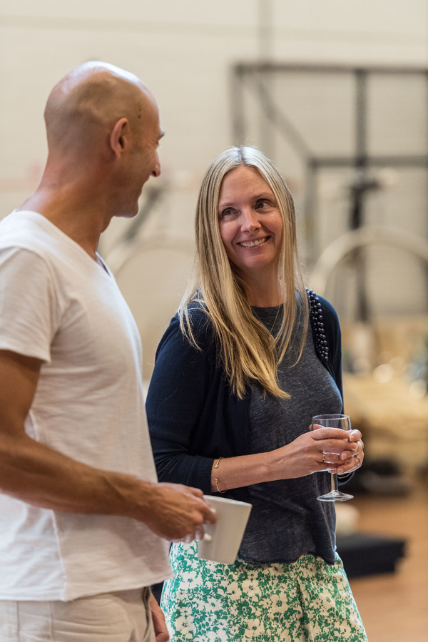 3.	MARK STRONG and HOPE DAVIS  Photo