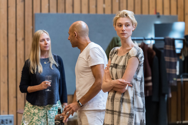 9.	HOPE DAVIS, MARK STRONG and ELIZABETH DEBICKI Photo