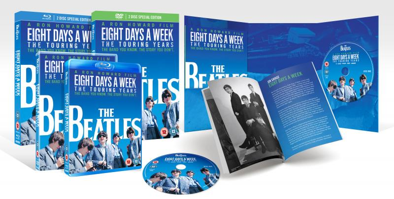 Image result for Eight Days A Week: The Touring Years Blu-Ray and DVD