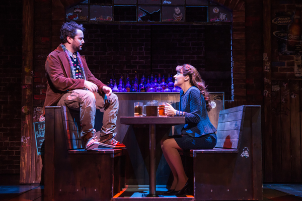 Alex Brightman and Jenn Gambatese
