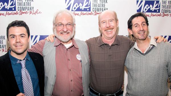 Frank Paul, Tim Jerome, D.C. Anderson, and Dan Manjovi