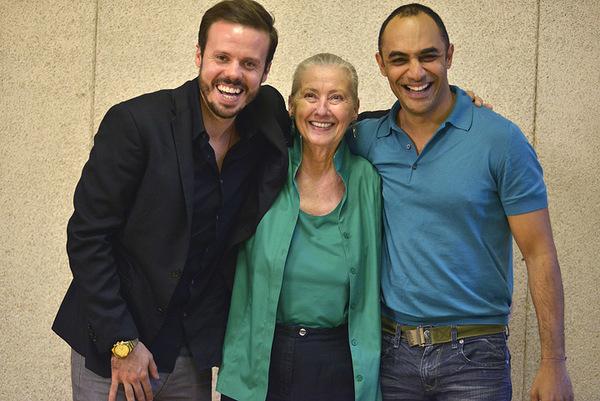 Michael Thurber, Paulette Haupt, Saheem Ali Photo