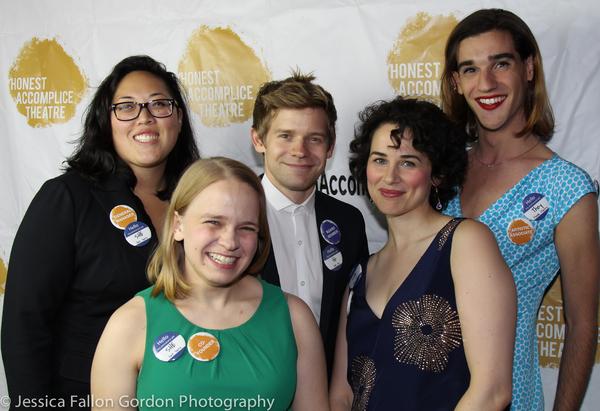 Holly Sansom, Maggie Keenan-Bolger, Andrew Keenan-Bolger, Rachel Sullivan and Maybe Burke