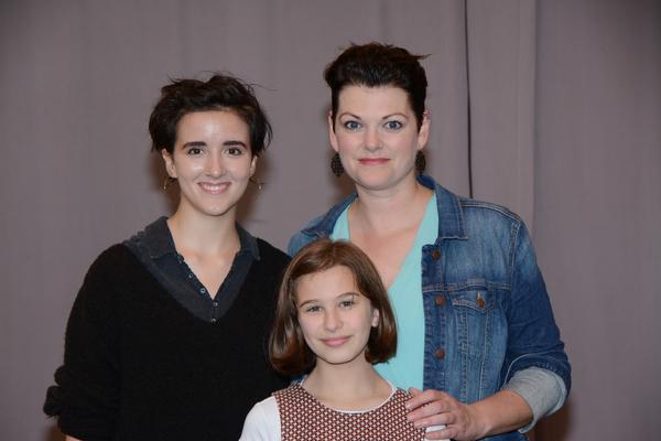Abby Corrigan Kate Shindle and Alessandra Baldacchino