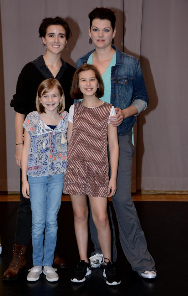 Abby Corrigan, Kate Shindle, Carly Gold and Alessandra Baldacchino