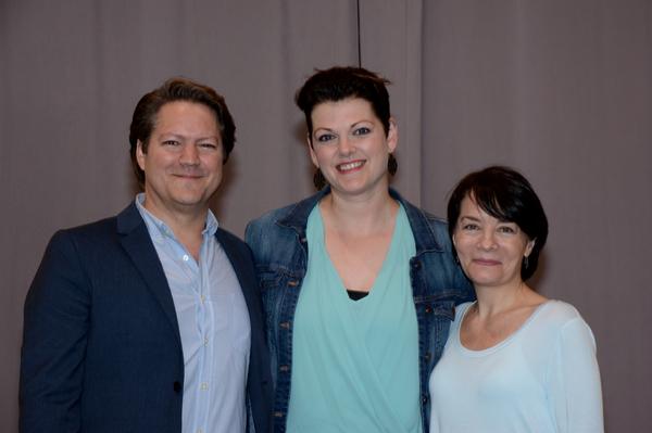 Robert Petkoff, Kate Shindle and Susan Moniz