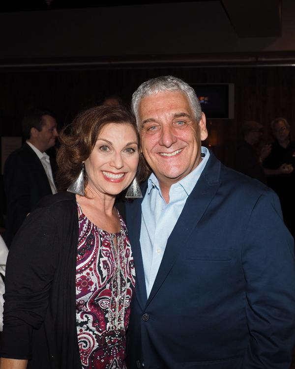 Director Glenn Casale and Valerie Perri