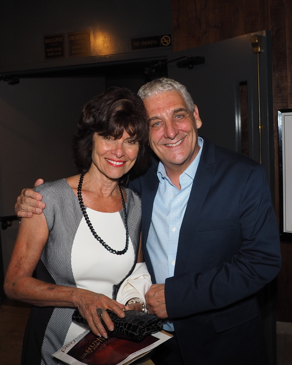 Adrienne Barbeau and Glenn Casale