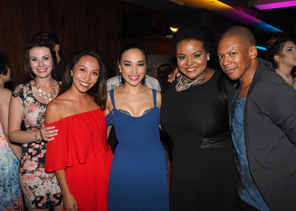 Jacklyn Kelly, Nancy Lam, Cassie Simone, Amber Mercomes, and Lawrence Cummings