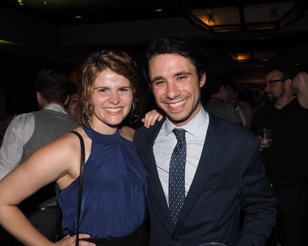 Katharine McDonough and Dino Nicandros