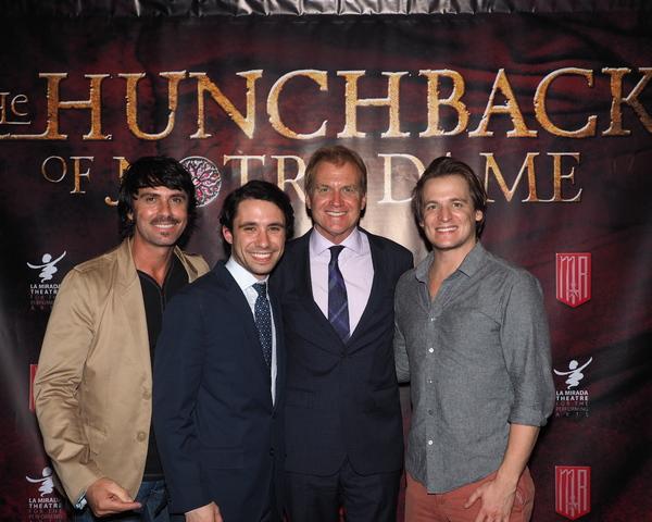 Eric Kunze, Dino Nicandros, Tom McCoy, and John McGinty