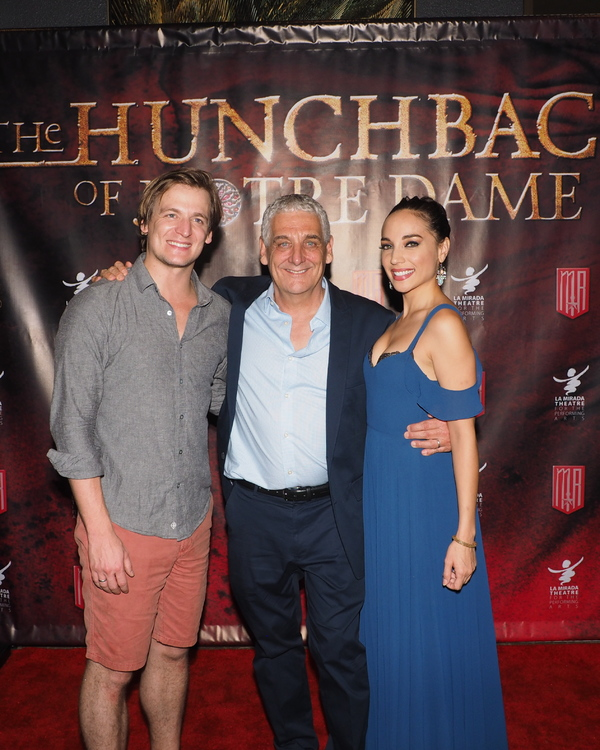 John McGinty and Cassie Simone with Director Glenn Casale