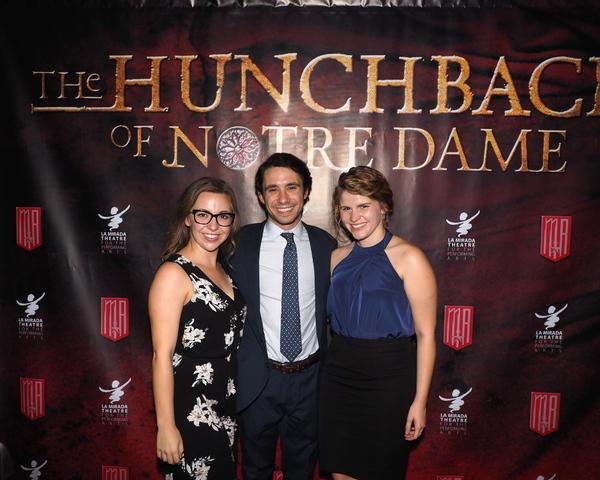 Carolyn Lupin, Dino Nicandros, and Katharine McDonough