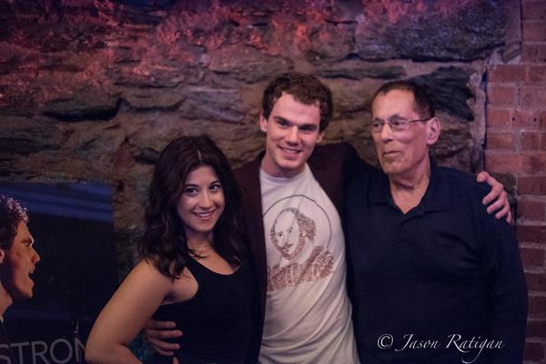 Marissa Bregande, Jay Armstrong Johnson and Dr. Tom Lazarro