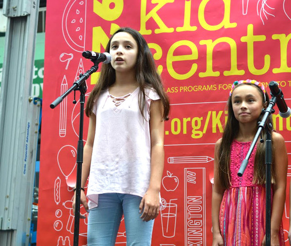 Photo Flash: Cabaret for a Cause Performs at This Year's 92Y Street Festival