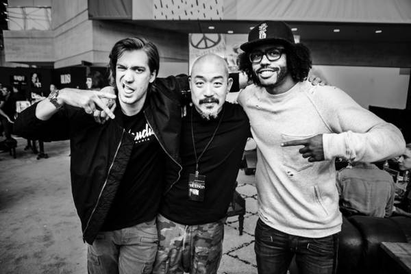 Rafael Casal, Jeans Peter Kim and Daveed Diggs Photo