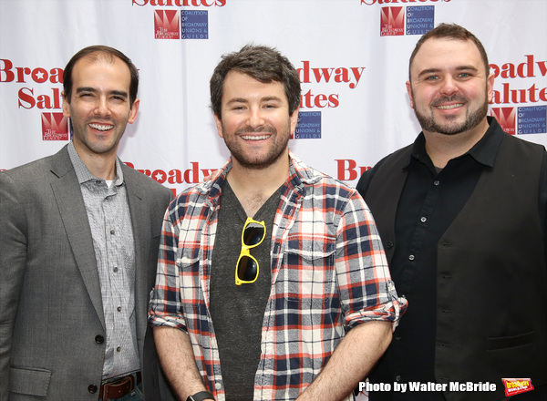 Marc Bruni, Alex Brightman and Joel Waggoner