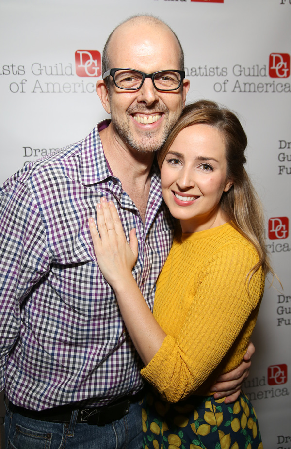 Jeff Blumenkrantz and Hannah Elless