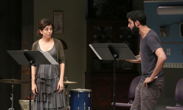 Marjan Neshat and Babak Tafti