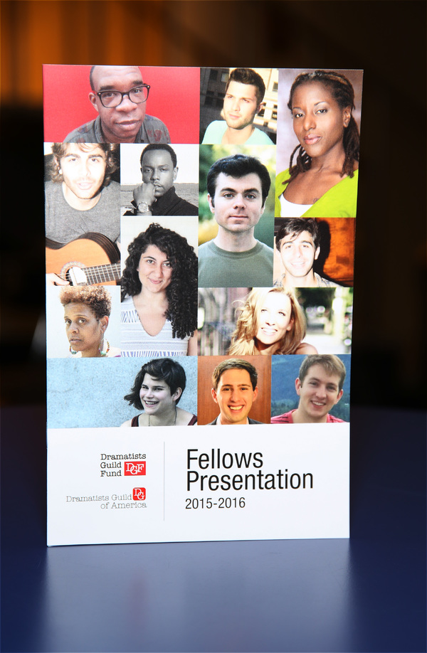 The Dramatists Guild Fund presents 2015-16 Fellows