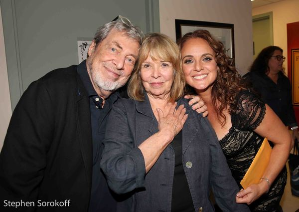 Tony Walton, Gen Leroy Walton, Melissa Errico Photo